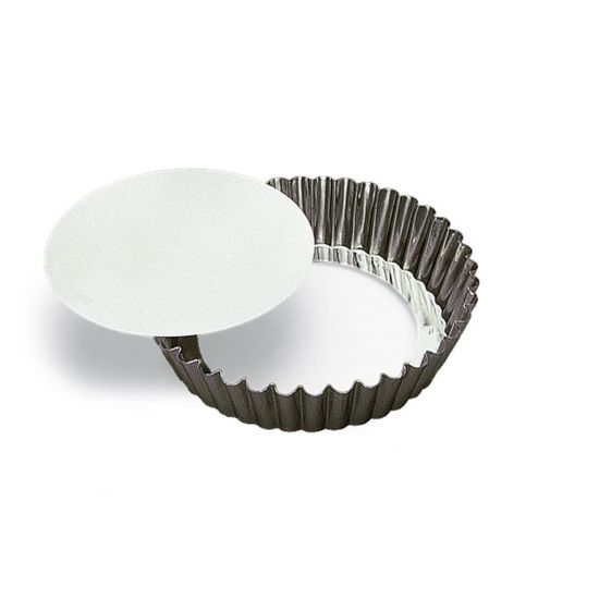 100MM RND FLUTED CAKE MOULD L/B Pack Of 4 CC 14124810