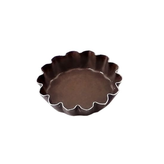 110MM N/S RND FLUTED TART MOULD F/B Pack Of 12 CC 14293572