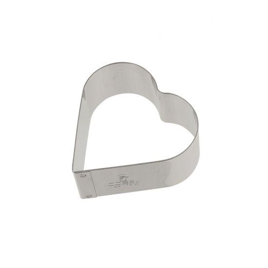 65MM S/S HEART NONNETTE RING H30MM Pack Of 2 CC 14868510