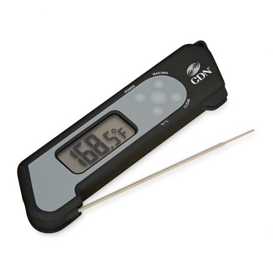 CDN Folding Thermometer 10.8cm Probe-Black CC 1751054
