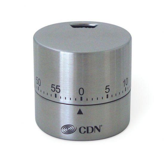 CDN Round Timer 5.7cm Silver CC 1751059