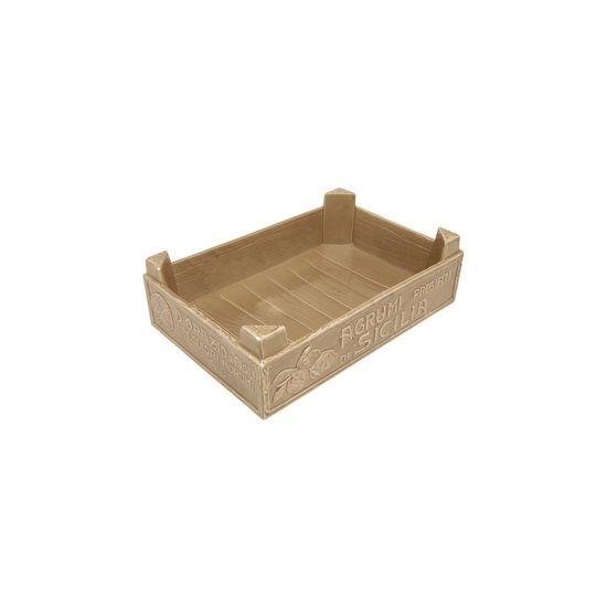 **34X22.5CM FRUIT BOX FUNGHI MEDITERRANE CC 5525604