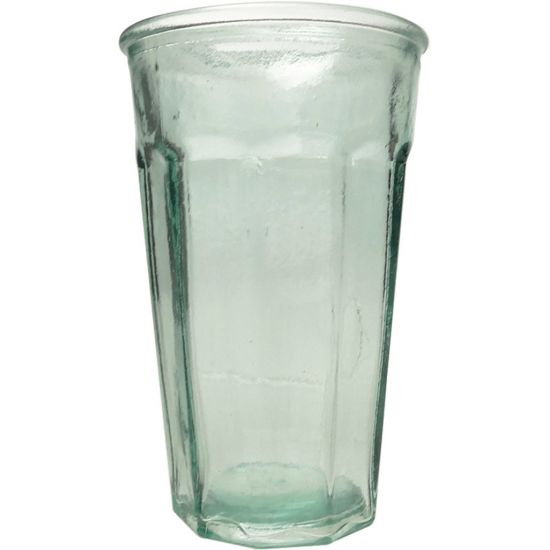 300ML CONICAL GLASS CASUAL HT13CM/D8CM Pack Of 4 CC 642233
