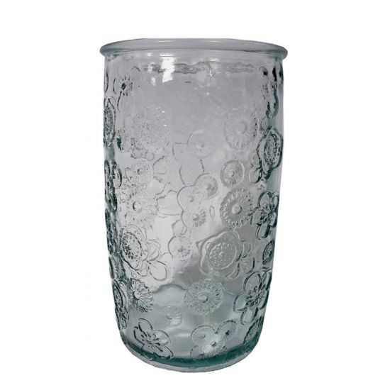 400ML GLASS FLORA HT14CM/D8CM Pack Of 4 CC 642301