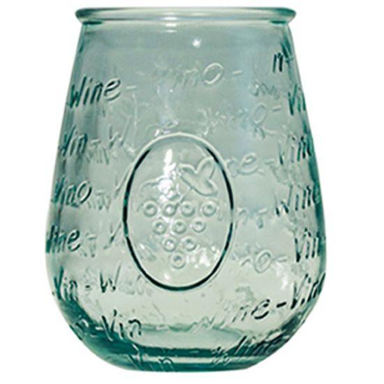 65CL GLASS MEDITERRANEO HT13CM/D11CM  Pack Of 4 CC 642342