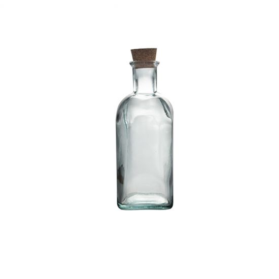 0.5L SQ BOTTLE W/CORK H19CM/D7CM Pack Of 3 CC 645022