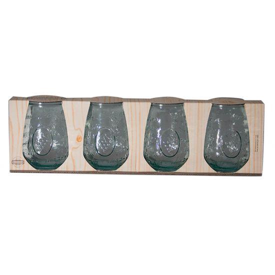 SET 4 65CL GLASS MEDITERRANEO CC 64XW234201